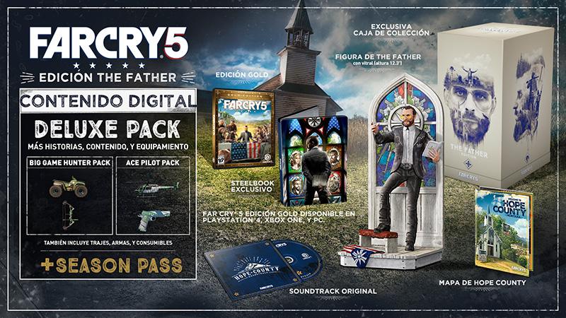 Father Collectors Edition de Far Cry 5 contenido