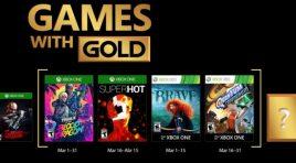Aquí tienes los Games with Gold que llegan en marzo 2018