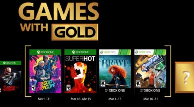Games with Gold marzo 2018