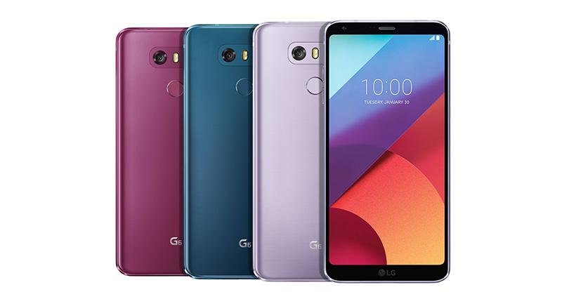 LG G6 nuevos colores