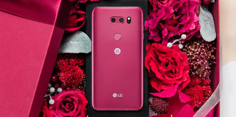 LG V30 Raspberry Rose se convirtió en un éxito en Corea
