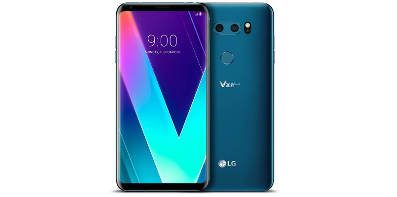 LG V30S ThinQ MWC2018