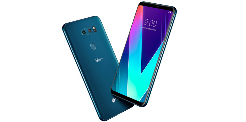 Con LG V30S ThinQ, la inteligencia artificial llegó a #MWC2018