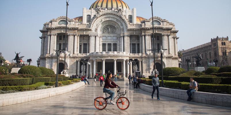 Las bicicletas inteligentes de Mobike llegan a México