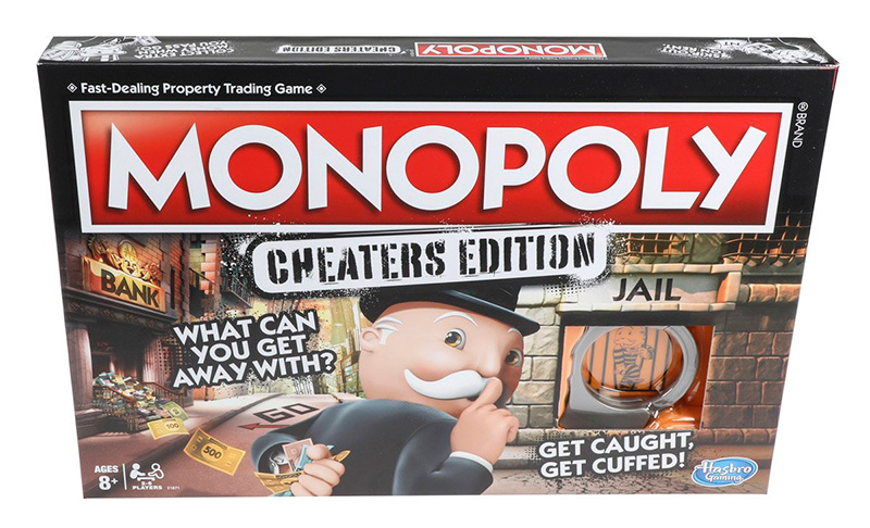 Monopoly Cheaters Mexico 2018 caja