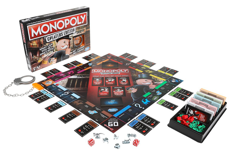Monopoly Cheaters Mexico 2018 contenido
