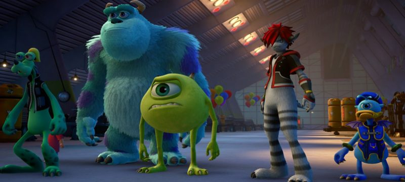 Monsters Inc Kingdom Hearts III