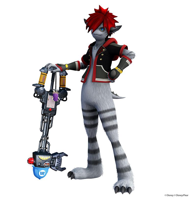 Monsters Inc Kingdom Hearts III Sora
