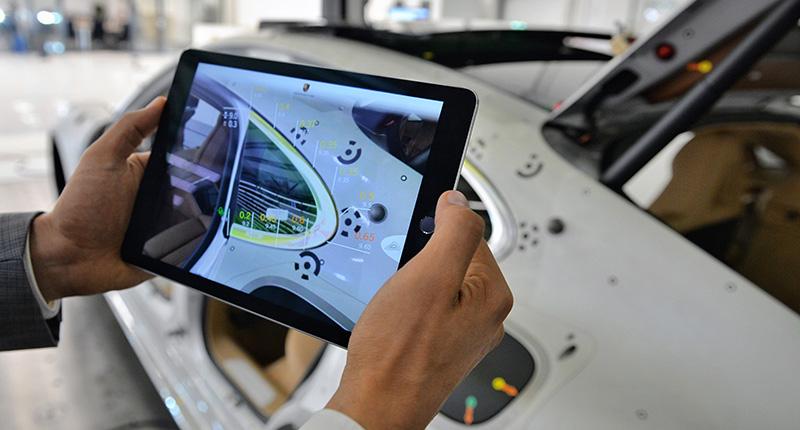 Porsche tablet GTV
