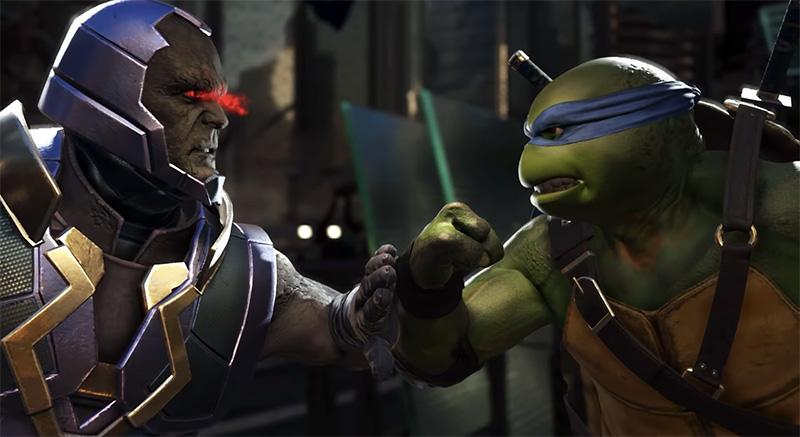 Tortugas Ninja Injustice 2 trailer