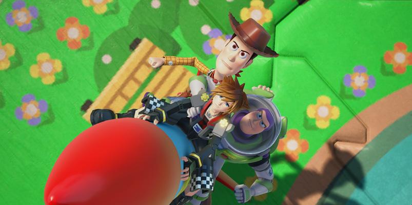 Un adelanto de Toy Story y Rapunzel para Kingdom Hearts III
