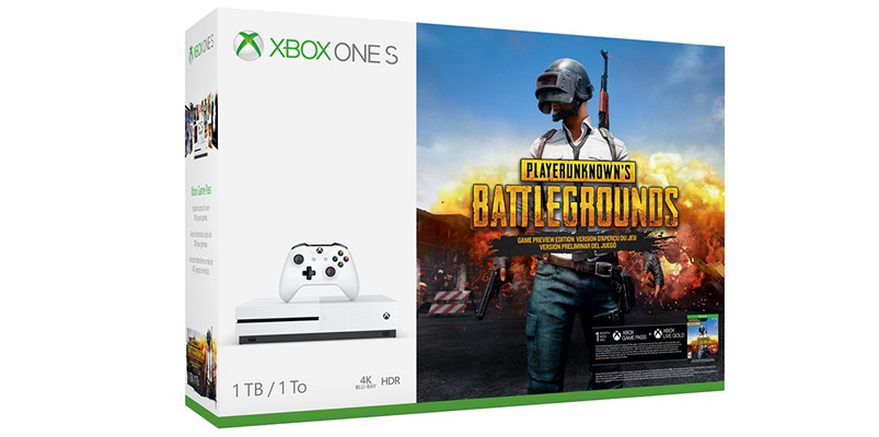 Xbox One S edición PlayerUnknown's Battlegrounds en México