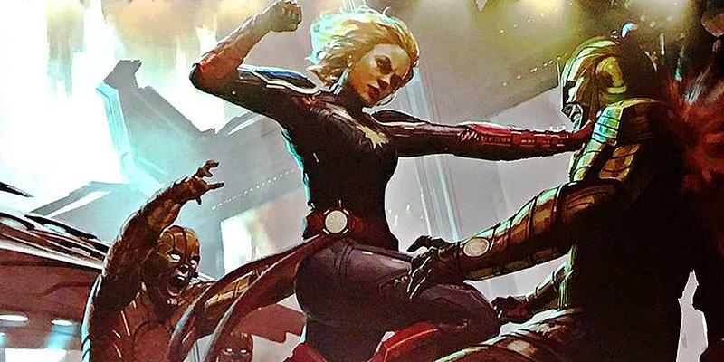 Captain Marvel malos