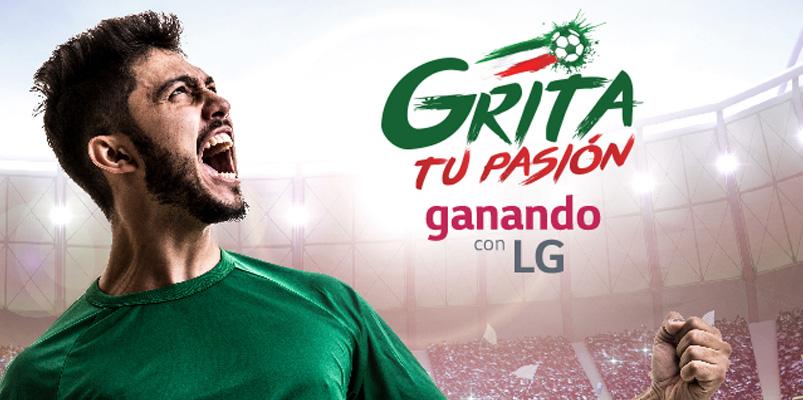 ¿Te gusta el futbol? LG te llevará al Mundial de Rusia 2018