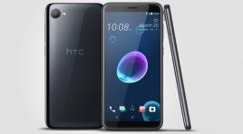 HTC Desire 12 se presenta con pantalla amplia de 18:9