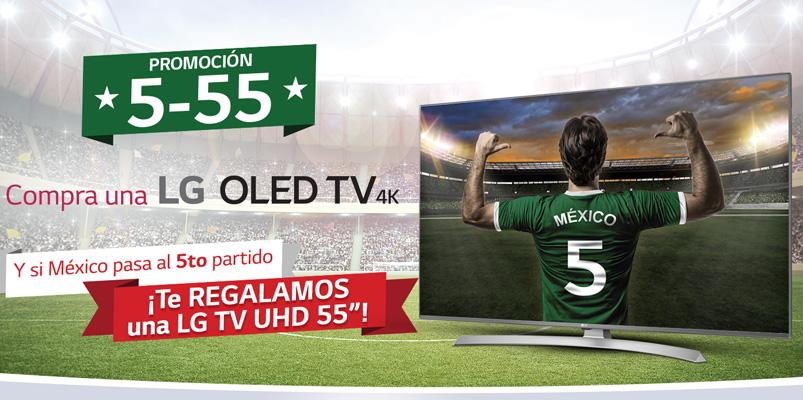 Promocion LG OLED 5-55