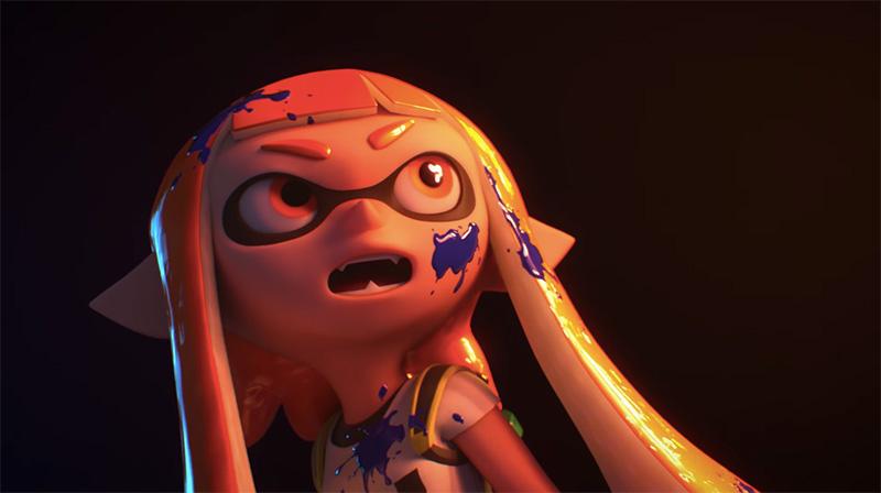 Super Smash Bros Nintendo Switch Inklings