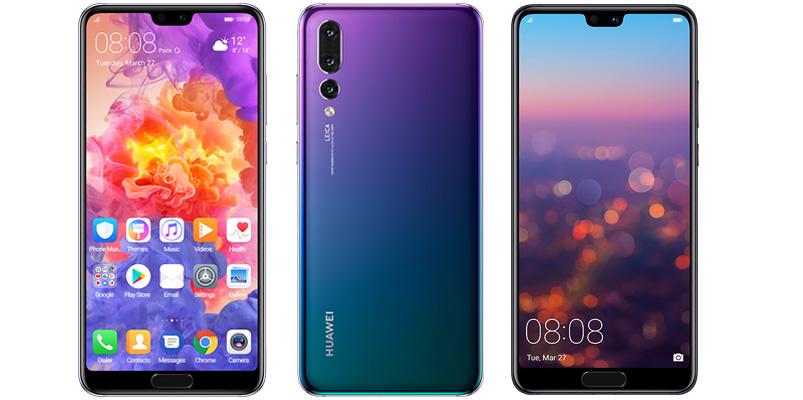 Serie Huawei P20 caracteristicas