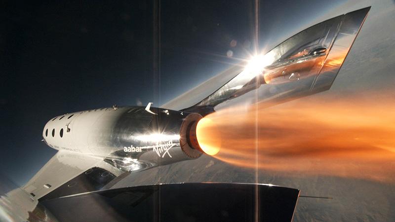 SpaceShipTwo VSS Unity F7