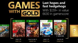 Listos los Games with Gold para junio de 2018