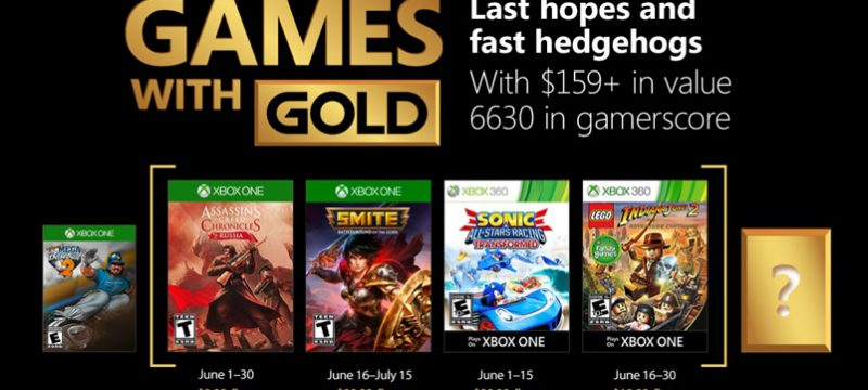 Games with Gold junio de 2018