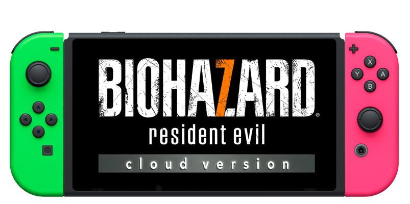 Resident Evil 7 Cloud Version para Nintendo Switch en Japón