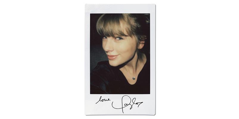 Taylor Swift Fujifilm instax