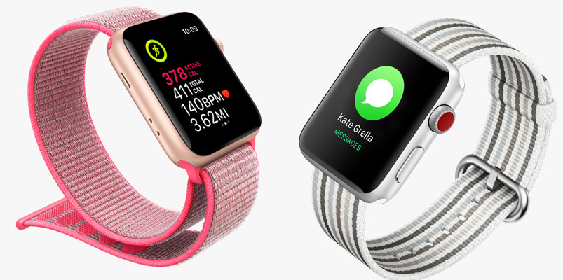 Apple Watch Series 3 (celular) llega a México y ya está con Telcel