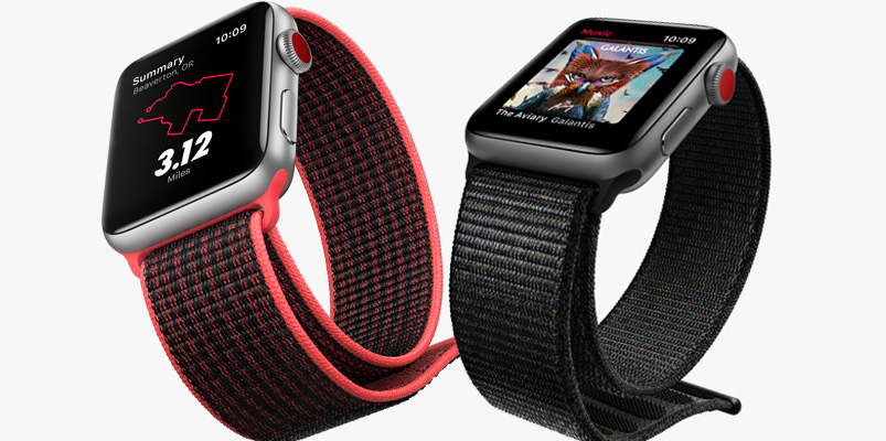 Apple Watch Series 3 GPS Celular Telcel 2018