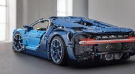 Así de increíble es el Bugatti Chiron de LEGO Technic