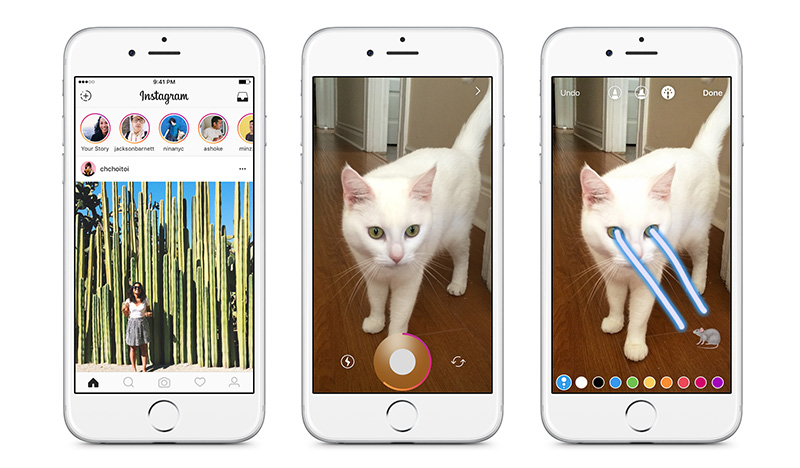 Instagram Compartir Stories iOS