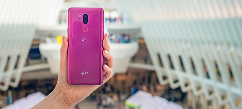 LG G7 ThinQ Google Assistant Key