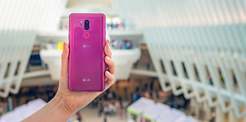 LG G7 ThinQ con Inteligencia Artificial y Google Assistant Key