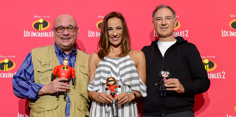 El talento de doblaje de Los Increíbles 2 en Latinoamérica