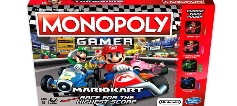 Monopoly Gamer Mario Kart Mexico