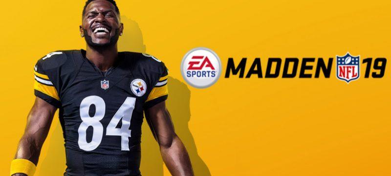 Antonio Brown Madden NFL 19