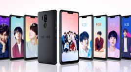Descarga el BTS Value Pack a tu smartphone LG