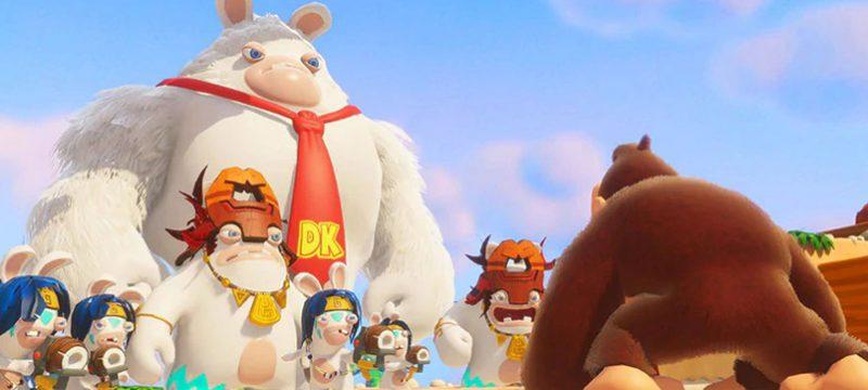 Donkey Kong Mario + Rabbids