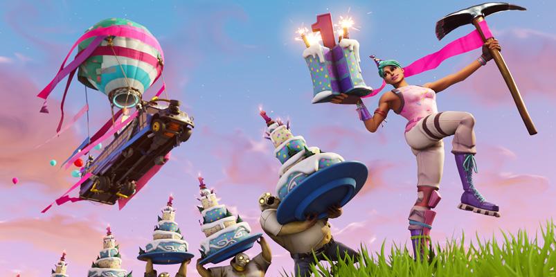 ¿Dónde encontrar los pasteles de aniversario de Fortnite?