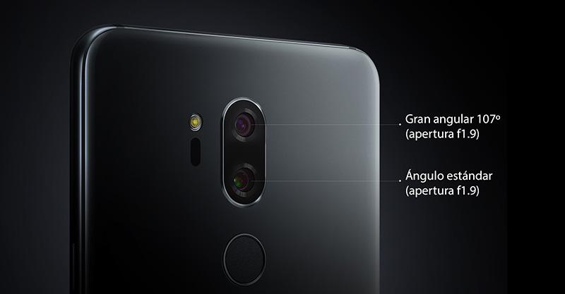 LG G7 ThinQ camaras Telcel