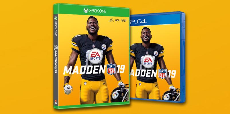 Madden NFL 19 Antonio Brown