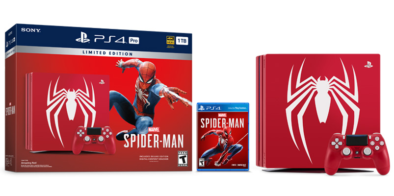 PS4 Pro Edición Limitada de Marvel's Spider-Man en Latinoamérica