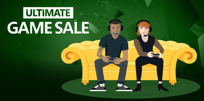 No te pierdas los descuentos del Ultimate Game Sale de Xbox
