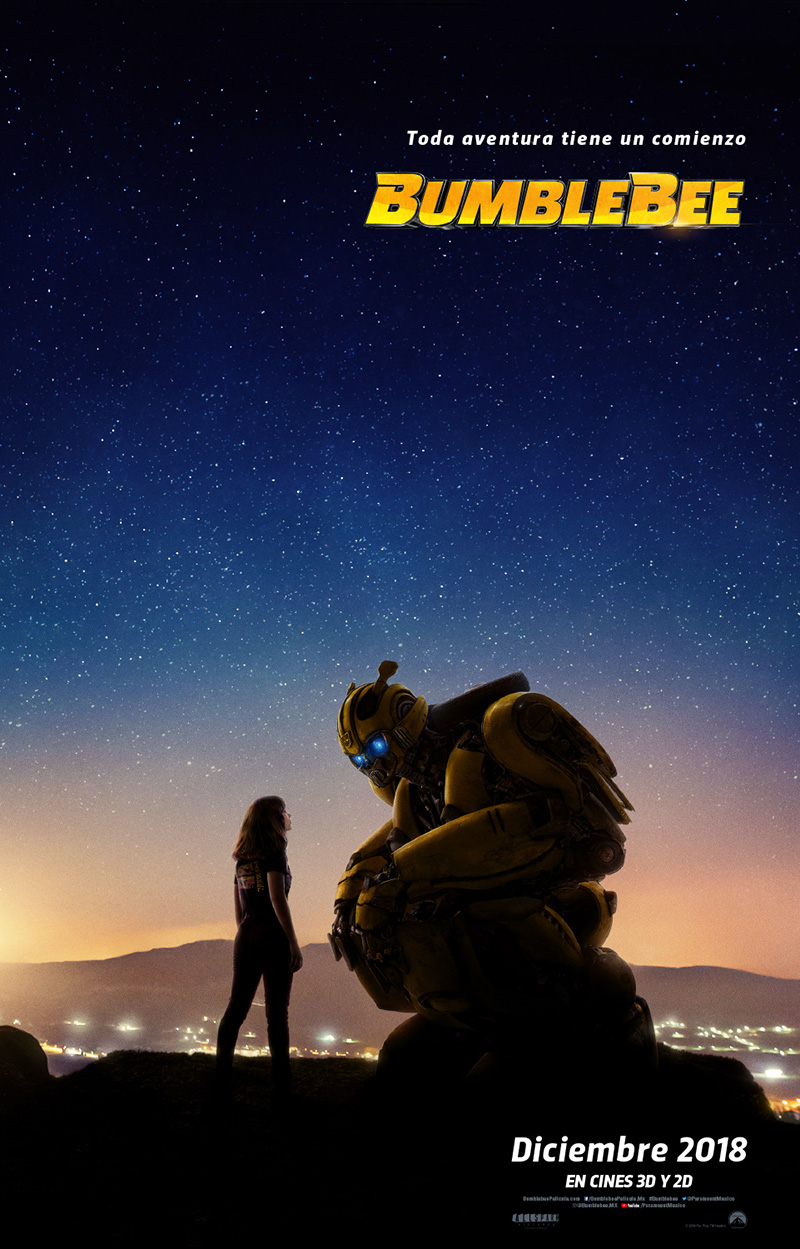 Bumblebee the Movie Poster oficial