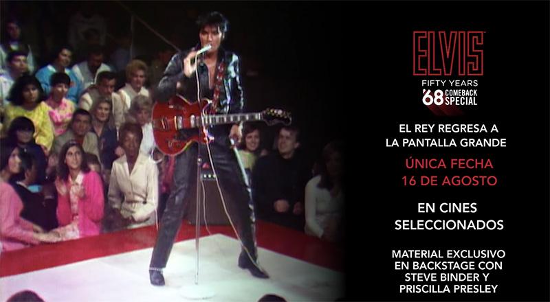 Elvis 68 comeback special cinepolis