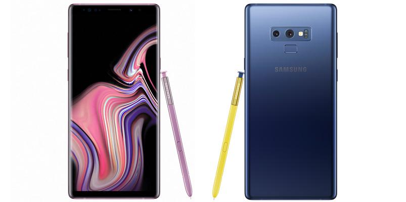 Samsung Galaxy Note9 llegará con almacenamiento de 512GB