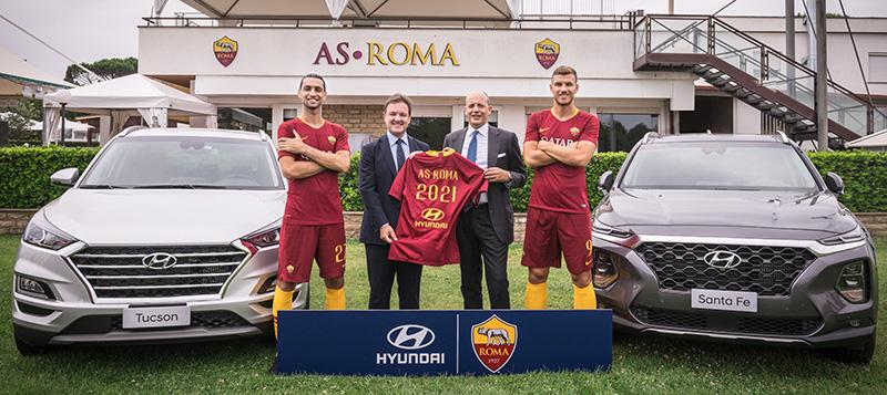Hyundai patrocinador AS Roma