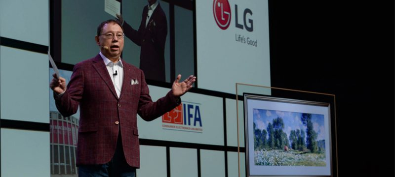IFA 2018 LG Inteligencia Artificial