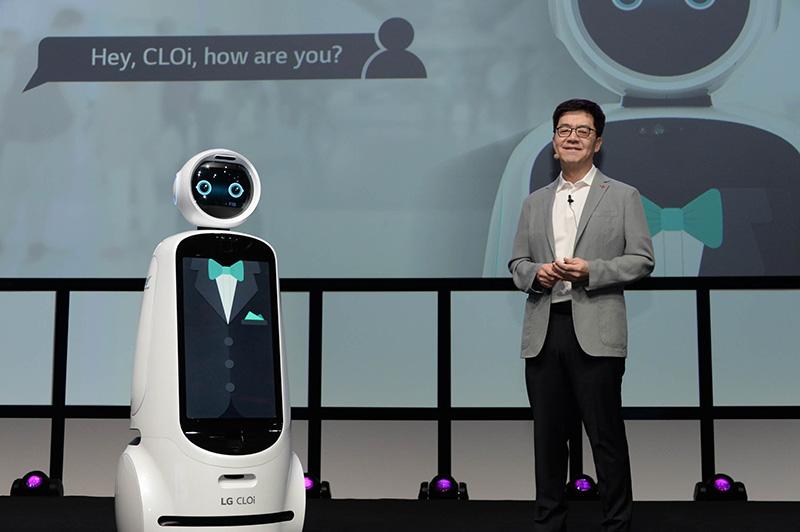 IFA 2018 LG Inteligencia Artificial robot CLOi Park