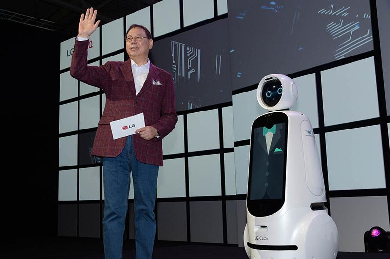 IFA 2018 LG Inteligencia Artificial robot Jo